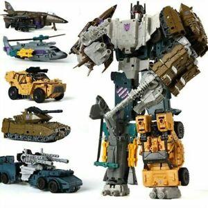 Bruticus Transformer 5 in 1 Action Figure Vehicle Robot Vortex Brawl Toy Model