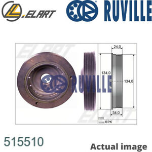 CRANKSHAFT BELT PULLEY FOR RENAULT KANGOO EXPRESS FC0 1 K4M 850 K4M 752 RUVILLE