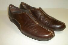 MUNRO AMERICAN 7.5N Womans Driving Moccasins Shoes Brown Leather XLNT Condition