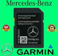 LATEST SD Card Garmin Map Pilot North America Mercedes-Benz GPS Navigation V10