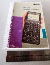 Original OEM HP 48SX Scientific Calculator Original User's Guide 1990