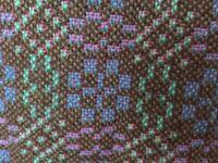 "Vintage 1960's Welsh Tapestry A Line Mini Skirt 31"" Waist X 17"" Long"