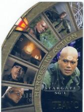 Stargate SG1 Season 4 Heroes In Action Chase Card H2