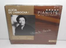 028945688329 Great Pianists of the 20th Century - De Larrocha  2CD New Sealed