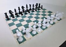 GOTHIC CHESS by Ed Trice - EXPANDED 8x10 VARIANT SET w/ PAPER MAT K=3½ in. (859)