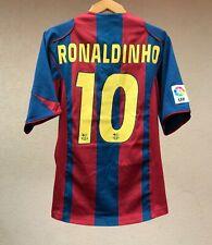 BARCELONA 2005/2006 HOME FOOTBALL SOCCER SHIRT JERSEY NIKE CAMISETA RONALDINHO