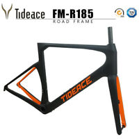 Tideace Road Racing Bicycle Frames OEM 700C Carbon Fiber Cycling Bike Frames 142
