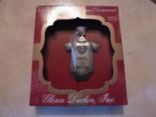 New ! Gloria Duchin Christmas Ornament Baby's 1st Christmas