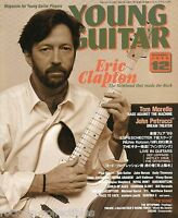 Young Guitar Magazine December 1999 Japan Eric Clapton Mr. Big Rage Against The