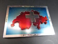 Suisse Suisse Suisse Premium Souvenir Aimant, Carte Laser Optique