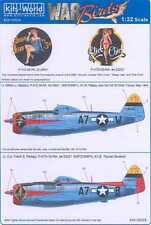 Kits World Decals 1/32 P-47D THUNDERBOLT Sleepy Jean the 3rd & Panzer Busters