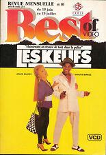 BEST OF VIDEO 10/88 JOSIANE BALASKO ISAACH DE BANKOLE AUDREY HEPBURN SPIELBERG