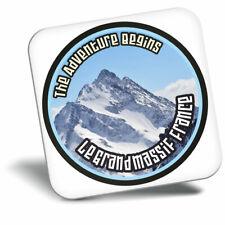 Awesome Fridge Magnet - Le Grand Massif France Ski Snowboard Cool Gift #7119