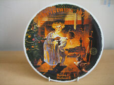 EDWIN KNOWLES NORMAN ROCKWELL COLLECTORS PLATE - CHRISTMAS 1979