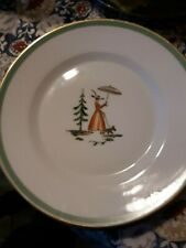 Royal Copenhagen 2 salad plates