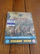 Jumanji: Welcome to the Jungle (Steel Book + HD UltraViolet Copy) [Blu-ray]