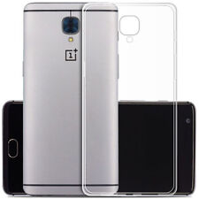 Quality Ultra Thin Crystal Clear Soft Gel TPU Case Cover Skin fr Oneplus 3Three'