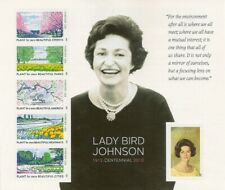 Lady Bird Johnson Collectible Forever Stamps Sheet of Six Stamps Scott 4716