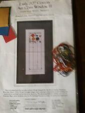 2 Counted Cross Stitch Kits Avery Coonley Art Glass Windows. Frank lloyd wright