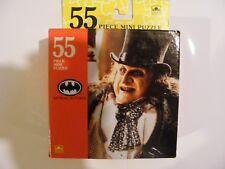 """Vintage 1992 Batman Returns de 55 Piezas Mini Puzzle """"Penguin"""" £ 5.00! Cómpralo ya!"""