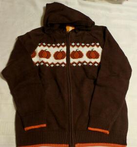 Gymboree Harvest Pumpkins Zip Sweater Size 3T 4T 5T Choice NWT
