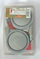 Ruote Arredamento c/perno filettato BLOCK D75 Kg50 10*15 2 pz confezione New