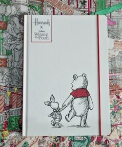 HARRODS X Winnie The Pooh A5 Notebook / Journal RRP £15.00