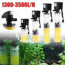 1300-3500L/H Submersible Water Aquarium Internal Filter Pump For Fish Tank