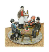 Pub or Café scene - OO/HO gauge unpainted figures Langley F13