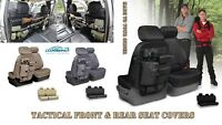 Coverking Tactical MOLLE Custom Front and Rear Seat Covers for Toyota Tacoma