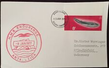 SIGNY ISLANDS 1978 Cover SENT  to Germany from SIGNY ISL. FRANKED W. WHALE STAMP