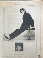 Pete Townshend Vintage Rolling Stone Original Ad The Who Pete Townshend