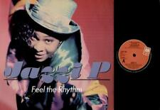 "JAZZI P Feel The Rhythm  12"" Ps, 4 Tracks, Club Mix/Instrumental/Tunnel Mix/Acap"