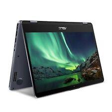"ASUS VivoBook Flip TP410UA 14"" (128 GB, Intel Core i3 7th Gen., 2.40 GHz, 8 GB) Laptop - Black - TP410UAEC540T"
