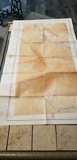 "VINTAGE RARE 1941 SECTIONAL AERONAUTICAL CHART MAP POCATELLO, ID 42"" X 24"""