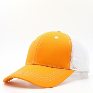 Mens Trucker Hat Mesh Baseball Cap Cotton Visor Strapback Adjustable Size