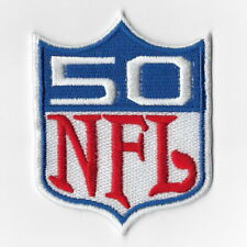 National Football League 50 years Super Bowl 2016 Iron on Patches Embroidered FN