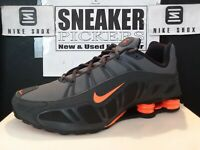Nike Shox Turbo 3.2 SL - 455541 080 - Dark Grey / Orange - Black - Size: 11