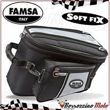 FA244/54 SACOCHE DE RESERVOIR FAMSA E-MAX SPORT POUR APRILIA SHIVER SL 750