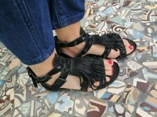 ASH sandales pointure 37 de couleur noir