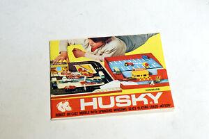 Husky Modellauto Katalog 1968 Denmark 24 Seiten DIN A6 60er Jahre