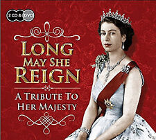 Long May She Reign A Tribute To Her Majesty The Queen- 2 CD & DVD SET - NEW
