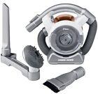 Black & Decker FHV1200 Cordless FLEX Vacuum - White/Gray Handheld Cleaner