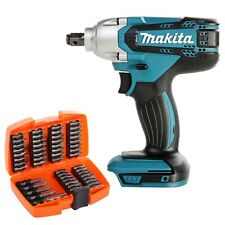 """Makita DTW190 18V 1/2"""" Impact Wrench With 49 Piece Screwdriver Bit Set"""