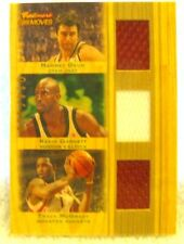 Okur/Garnett/McGrady 2007-08 Topps Trademark Moves Triple Patch/Jerseys#14/199