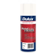 Dulux METALSHIELD QUICK DRY SPRAY PAINT 300g Aerosol,Superior Finish GLOSS WHITE