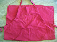 Ikea Julso Cooking Apron Red Heart Design
