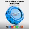 CNC Rear Brake Fluid Reservoir Cover Cap Fit For Suzuki GSXR600 K6 GSXR750 K11