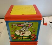 Vintage Looney Tunes Bugs Bunny Jack in the Box 1978 Works Read Description