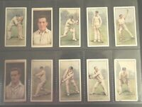 1929 Wills CRICKETERS cricket 50 card set Tobacco Cigarette cards complete lot